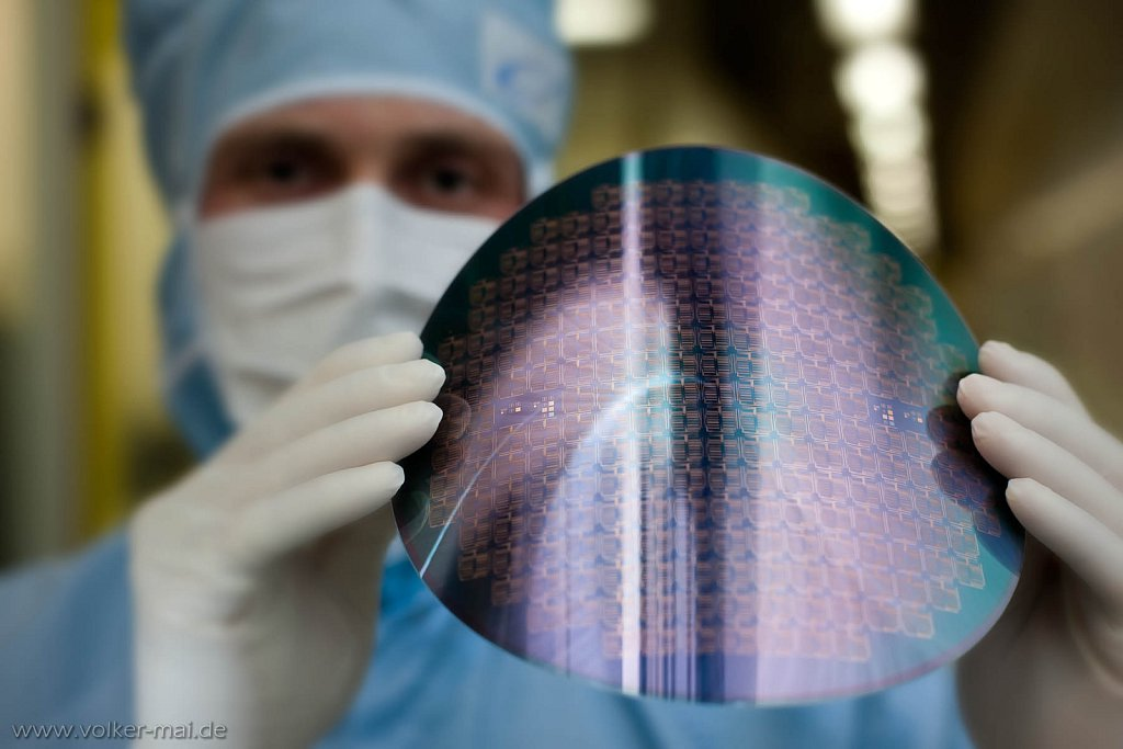 flexibler wafer, fraunhofer izm, 2012