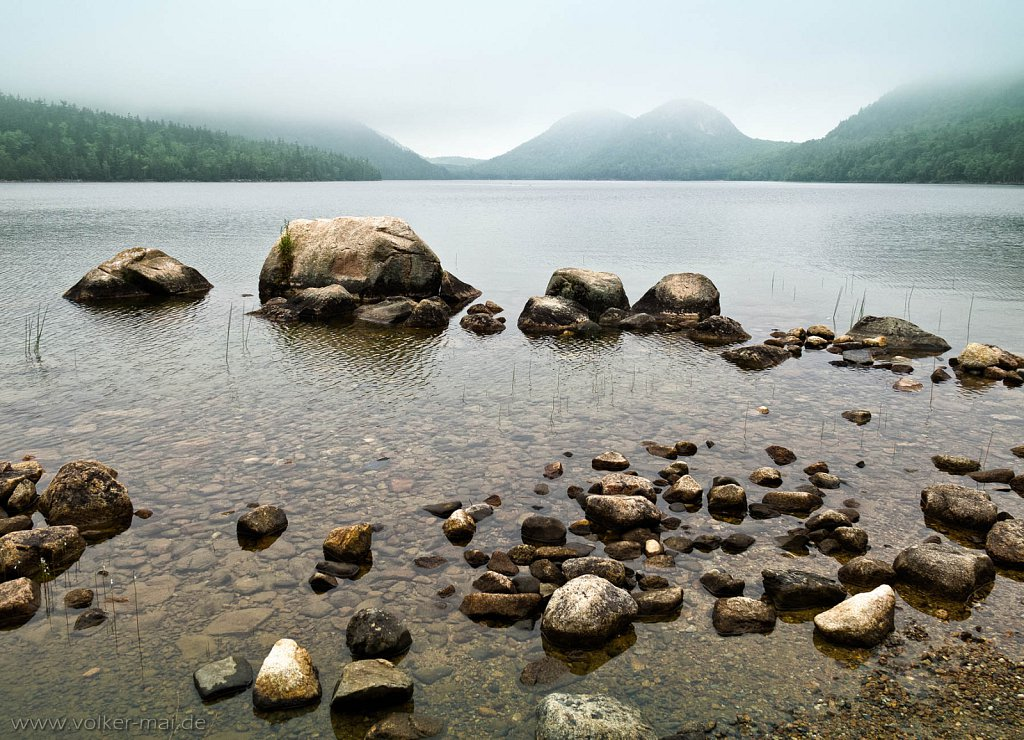 bubble pond, maine usa, 2012